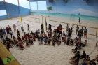 Beach-Volleyball-Oberstufenturnier am 08.02.2018